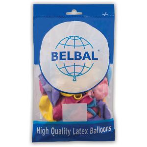 Воздушные шары Веселая затея, 50 шт, пастель Затея. Цвет: разноцветный