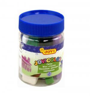 Карандаши цветные  12 цветов + точилка ластик Jovi
