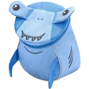 Рюкзак  Mini Animals Акуленок Belmil. Цвет: синий