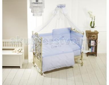Комплект в кроватку  Orsetti Long (6 предметов) Feretti