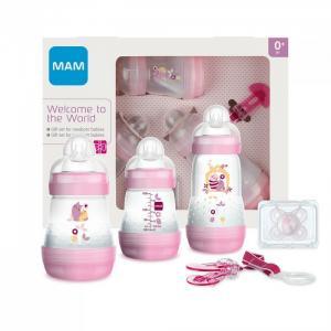 Подарочный набор для новорожденных Welcome to the world Giftset 62860010/2 с 0 мес. MAM