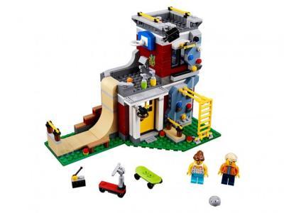 Конструктор  Creator 31081 Лего Криэйтор Скейт-площадка (модульная сборка) Lego
