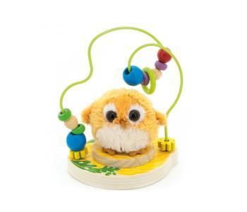 Деревянная игрушка  Лабиринт Совушка Мир деревянных игрушек