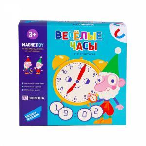 Настольная игра  детская Весёлые часы (маг.), разноцветный Dream Makers