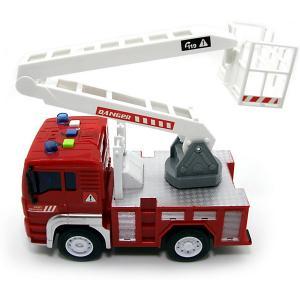 Машина  Пожарная лестница, инерционная, свет/звук Balbi