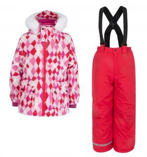 Комплект куртка/брюки  Alva, цвет: розовый Kuutti