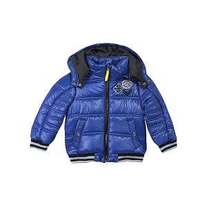 Демисезонная куртка 3 Pommes. Цвет: голубой