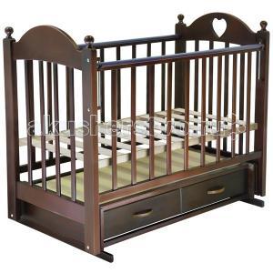 Детская кроватка  Марьяна №3 (поперечный маятник) Ведрусс