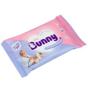 Влажные салфетки  антибактериальные, 15 шт My Bunny