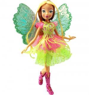 Кукла  Club Баттерфликс-2 Двойные крылья Флора 28 см Winx
