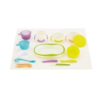 Набор детской посуды для кормления Baby Tableware Combi