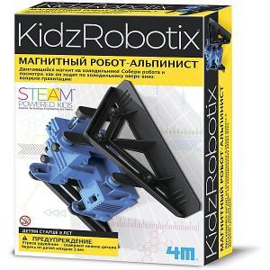 Набор для робототехники  KidxRobotix Магнитный робот-альпинист 4M