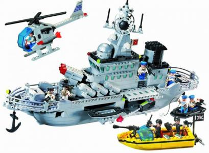 Конструктор  Ракетный крейсер 821 (843 элемента) Enlighten Brick