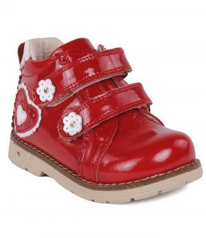 Ботинки Orsetto. Цвет: красный
