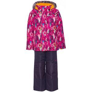 Комплект : куртка, полукомбинезон Zingaro by Gusti. Цвет: розовый