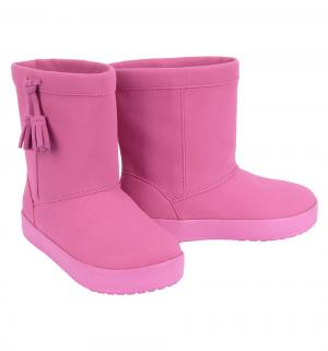 Сапоги  LodgePoint Boot K Party Pink, цвет: розовый Crocs