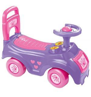 Каталка-автомобиль , цвет: розовый Dolu