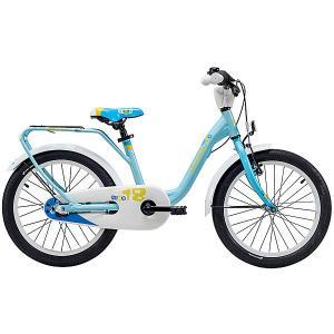 Двухколесный велосипед  niXe 18 Scool. Цвет: голубой
