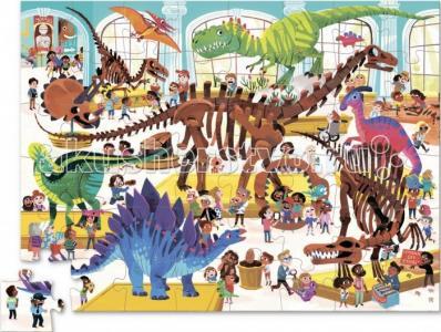Пазл День в музее Динозавр (48 деталей) Crocodile Creek