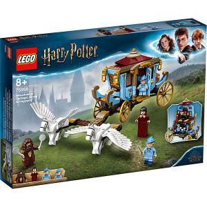 Конструктор  Harry Potter Карета школы Шармбатон: приезд в Хогвартс, 430 деталей, арт 75958 LEGO. Цвет: разноцветный