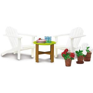 Мебель для домика  Смоланд Садовый комплект Lundby. Цвет: разноцветный
