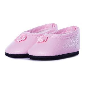 Балетки розовые, для кукол 32 см Paola Reina. Цвет: разноцветный