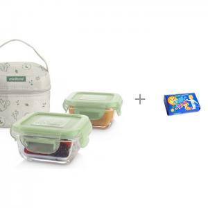Термосумка Pack-2-Go Natursquare и Мыло Свобода Тик-так 150 г Miniland